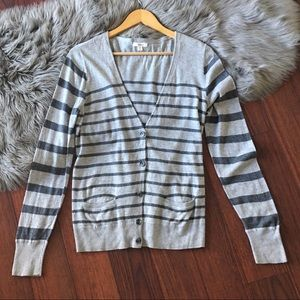 Sweaters - Nordstrom Caslon Cardigan Striped Sweater